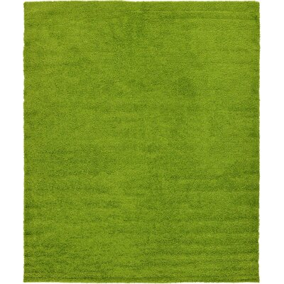 Madison Basic Apple Green Area Rug Rug Size: 10 x 13, Color: Color