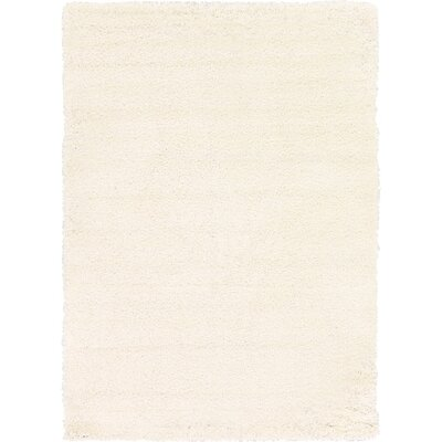 Madison Snow White Area Rug Rug Size: 7 x 10, Color: Ivory