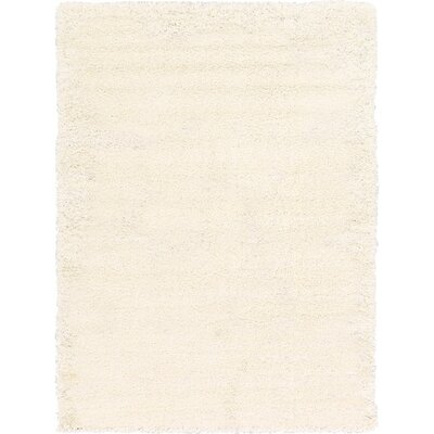 Madison Snow White Area Rug Rug Size: 12 x 15, Color: Ivory