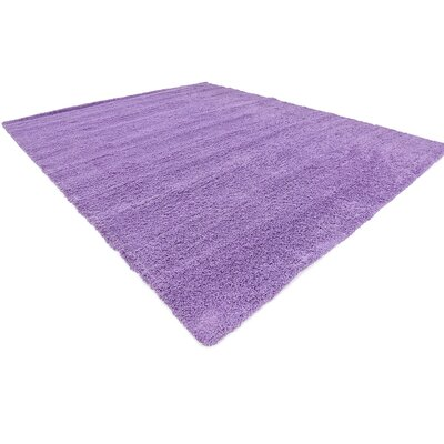 Madison Lilac Area Rug Rug Size: Round 82, Color: Lilac