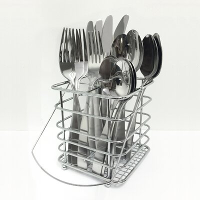 Samantha 17-Piece Flatware Set