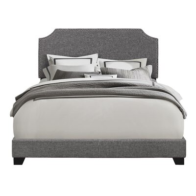 Kyara Upholstered Panel Bed Size: Queen