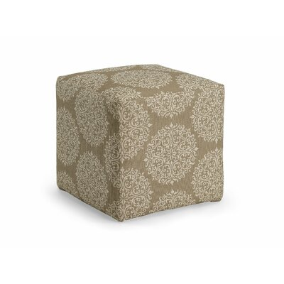 Dorothea Cube Ottoman Upholstery: Pearl