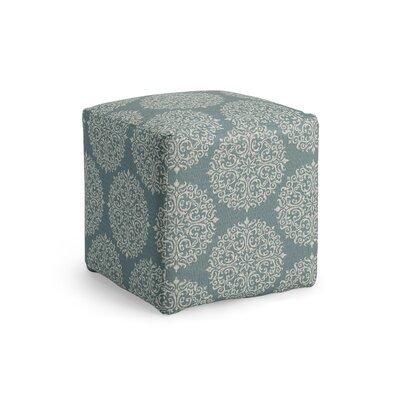 Dorothea Cube Ottoman Upholstery: Sky