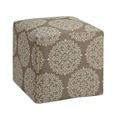 Dorothea Cube Ottoman Upholstery: Stone