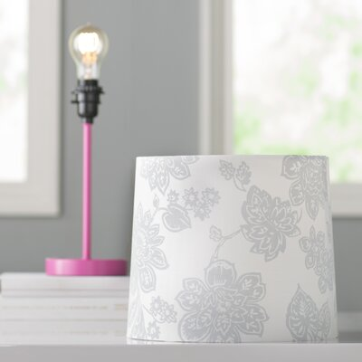 Ida 11 Cotton Drum Lamp Shade Shade: Gray