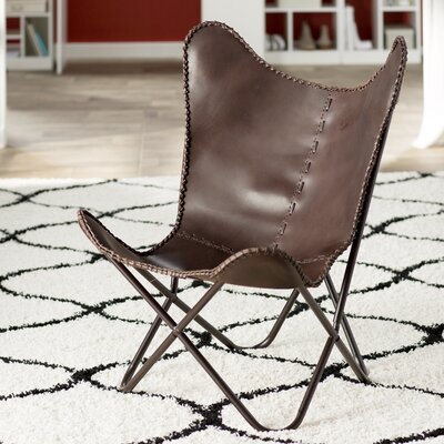 Sharon Lounge Chair Upholstery: Brown