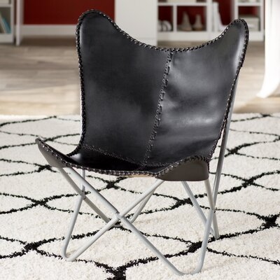 Sharon Lounge Chair Upholstery: Black