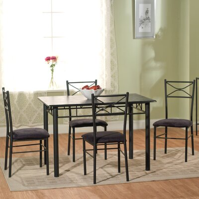 Geraldine 5 Piece Dining Set II