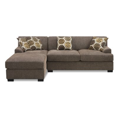 Zipcode Design ZIPC3519 30349256 Natalee Reversible Chaise Sectional Upholstery