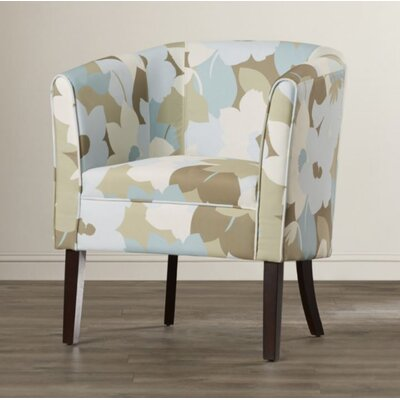Marissa Patterned Barrel Chair Color: Floral