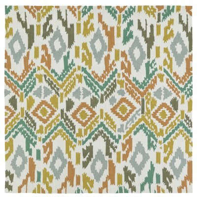 Michele Handmade Indoor / Outdoor Area Rug Rug Size: Square 59