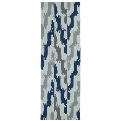 Michele Handmade Indoor / Outdoor Area Rug Rug Size: Runner 26 x 8