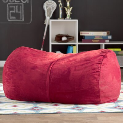 Amanda Bean Bag Lounger Color: Red