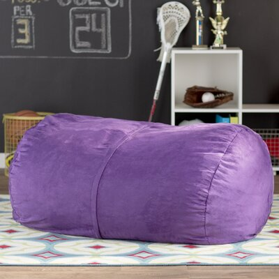 Amanda Bean Bag Lounger Color: Purple