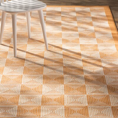 Charlotte Orange Indoor/Outdoor Area Rug Rug Size: Runner 23 x 77