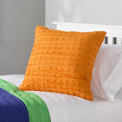 Rowena 100% Cotton Throw Pillow Color: Amber Glow