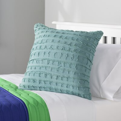 Rowena 100% Cotton Throw Pillow Color: Legion Blue