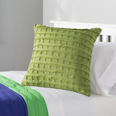 Rowena 100% Cotton Throw Pillow Color: Piquant Green