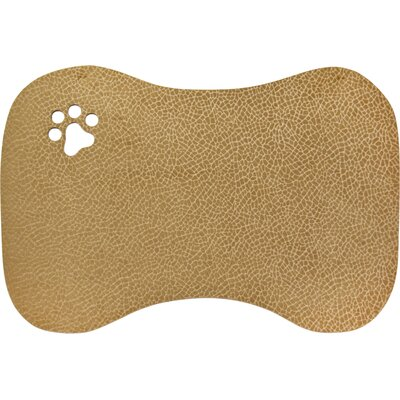 Roxie Furry Friends Bowl Kitchen Mat Color: Mocha