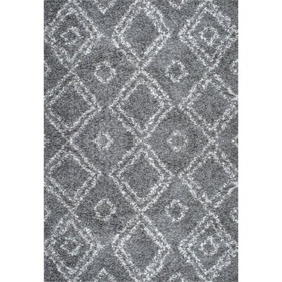 Alexa Gray Area Rug Rug Size: 67 x 9