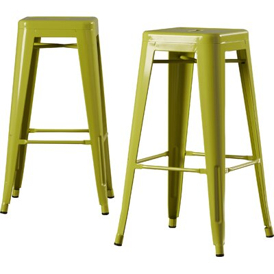 Louisa 30.5 Bar Stool Finish: Lime
