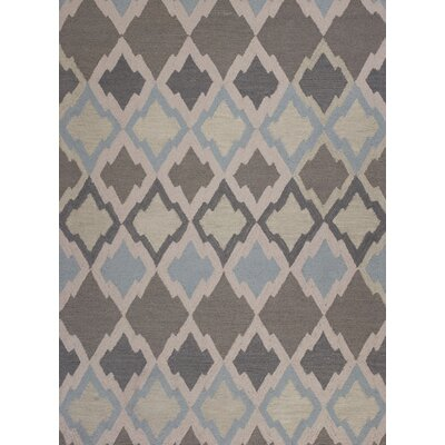 Cassidy Hand-Tufted Gray Area Rug Rug Size: 33 x 53