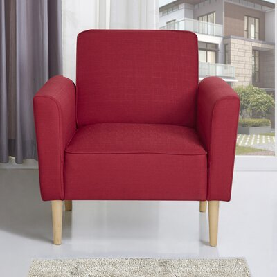 Daphne Armchair Upholstery: Red