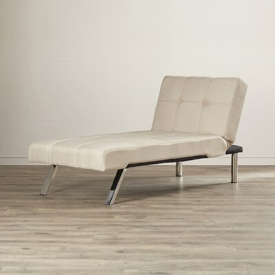 Piper Chaise Lounge Upholstery: Tan