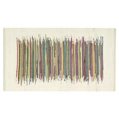 Imelda Ivory Area Rug Rug Size: 26 x 4