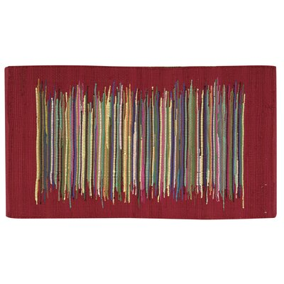 Sneyd Park Red Area Rug Rug Size: Rectangle 2 x 3