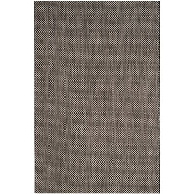 Mullen Black/Beige Area Rug Rug Size: Rectangle 9 x 12