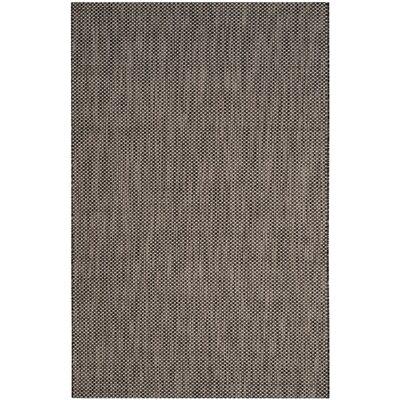 Mullen Black / Beige Area Rug Rug Size: 9 x 12