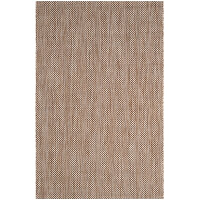 Estella Natural / Black Area Rug Rug Size: 2 x 37
