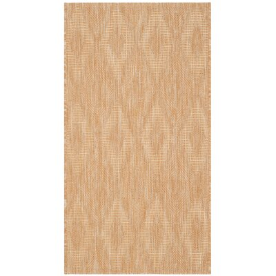 Estella Natural Indoor/Outdoor Area Rug Rug Size: 2 x 37