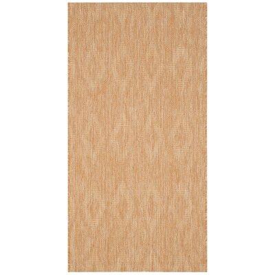 Lefferts Natural Indoor/Outdoor Area Rug Rug Size: Rectangle 27 x 5
