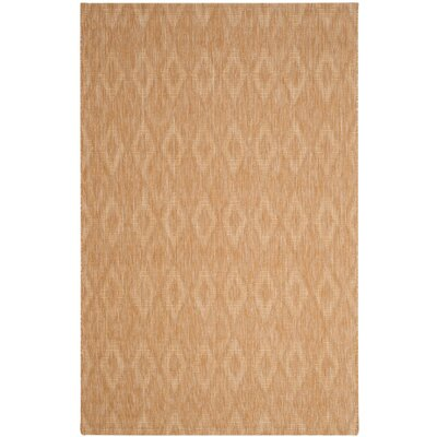 Lefferts Natural Indoor/Outdoor Area Rug Rug Size: 53 x 77