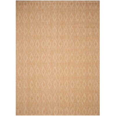 Estella Natural Indoor/Outdoor Area Rug Rug Size: 8 x 11