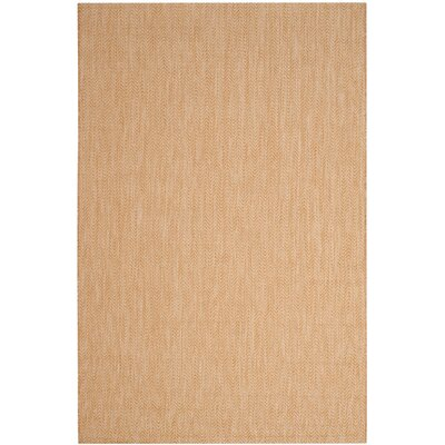 Mullen Natural/Cream Indoor/Outdoor Area Rug Rug Size: Rectangle 9 x 12