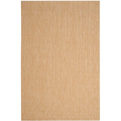 Estella Natural/Cream Indoor/Outdoor Area Rug Rug Size: 8 x 11