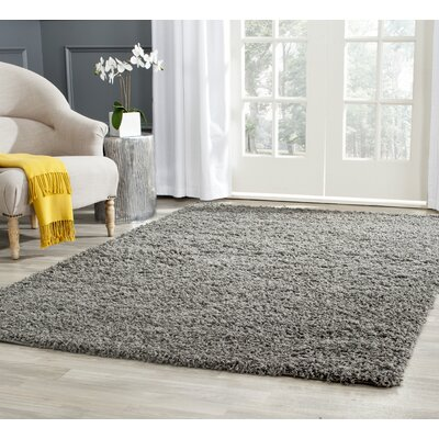 Kourtney Dark Grey Area Rug Rug Size: Rectangle 6 x 9