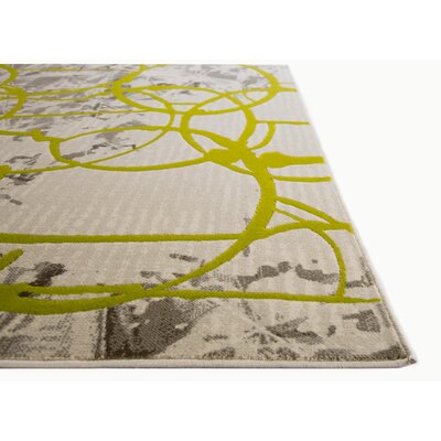 Tricia Green/Gray Area Rug Rug Size: 311 x 52