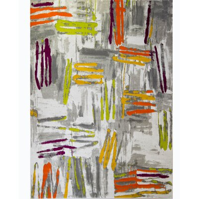 Tricia Gray Area Rug Rug Size: 311 x 52