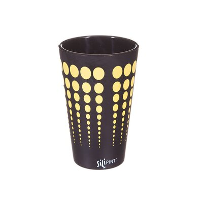 Valerie Silipint Water/Juice Glass Color: Black / Yellow ZIPC3916 30824212