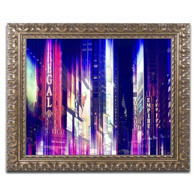 'Urban Stretch NYC VIII' Framed Photographic Print Size: 11