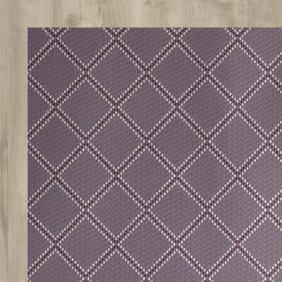 Bernadette Purple Indoor/Outdoor Area Rug Rug Size: 4 x 6