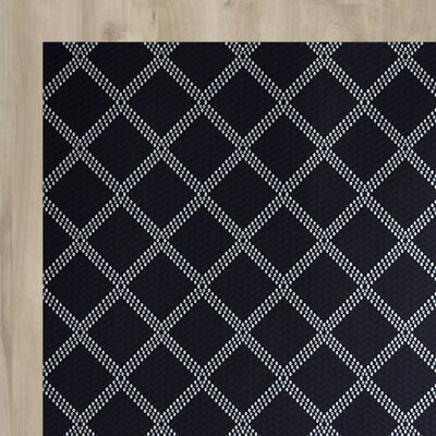 Bernadette Blue Indoor/Outdoor Area Rug Rug Size: 4 x 6