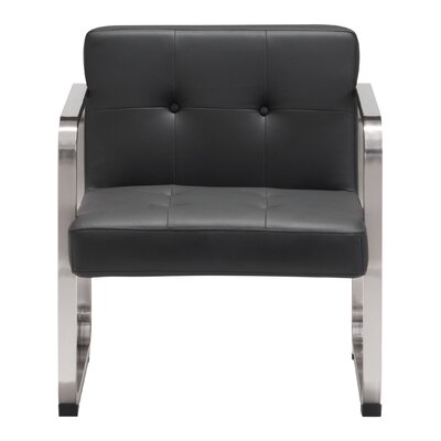 Dolly Armchair Frame Finish: Black
