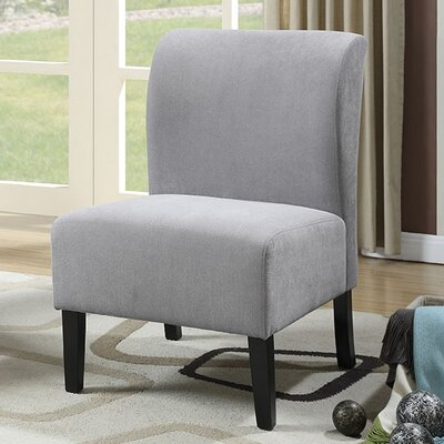 Reedsport Slipper Chair Upholstery: Grey