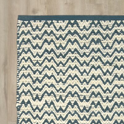 Millington Teal/Ivory Area Rug